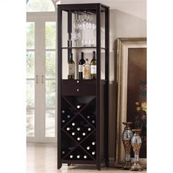 Austin Wine Tower in Dark Brown