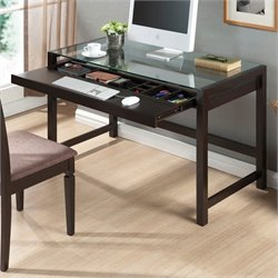 Idabel Desk in Dark Brown