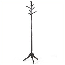Baxton Studio Oliver Coat Stand in Dark Brown