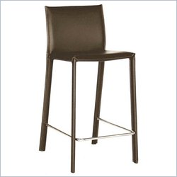 Bar Stool in Brown (Set of 2)