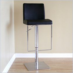 Baxton Studio Dallas Bar Stool in Black