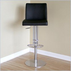 Baxton Studio Marcus Bar Stool in Black
