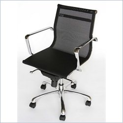 Baxton Studio Office Chair in Black