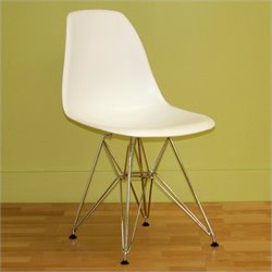 Baxton Studio  Dining Chair in White (Set of 2)