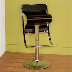 Baxton Studio Kori Barstool in Brown