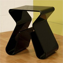Baxton Studio End Table in Black