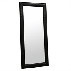 Baxton Studio Floor Mirror in Black