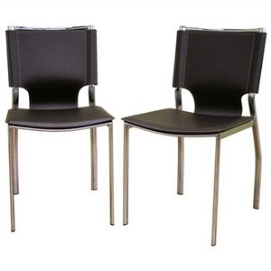 Dining Chair in Brown (Set of 2)