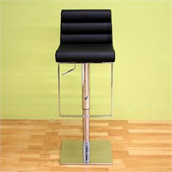 Baxton Studio Sandie Barstool in Black