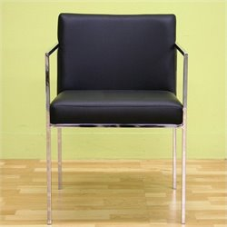 Baxton Studio Atalo Chair in Black