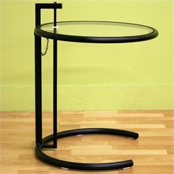 Baxton Studio Eileen End Table in Black