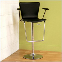 Baxton Studio Bar Stool in Black
