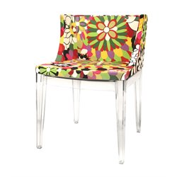 Baxton Studio Fiore Accent Chair in Multicolor