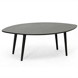 Baxton Studio Griffith Coffee Table in Dark Brown