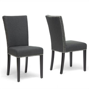 Harrowgate Dining Chair in Gray (Set of 2)