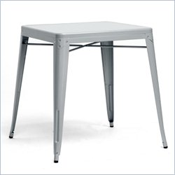 Baxton Studio French Industrial Dining Table in Gray