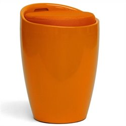 Baxton Studio Morocco Stool in Orange