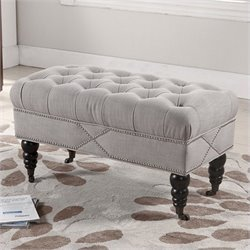 Hildebrand Bench in Beige