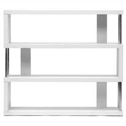 Baxton Studio Barnes Bookcase in White