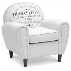 Baxton Studio Thomas-eiffel Chair in Beige