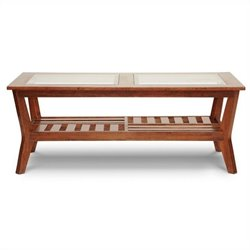 Baxton Studio Kislear Coffee Table in Brown