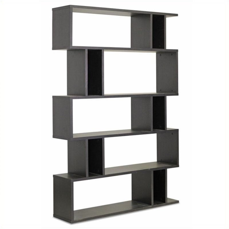 Goodwin 5-level Bookshelf in Espresso