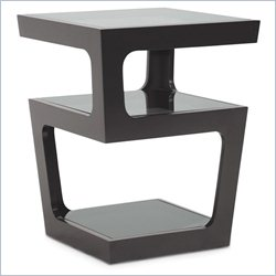 Baxton Studio Clara End Table in Black