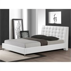 Zeller Queen Bed in White