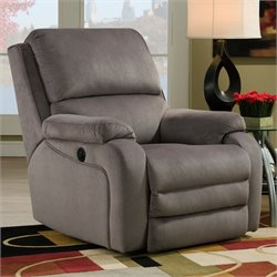 Southern Motion Ovation Rocker Power Recliner in Night Party Smoke