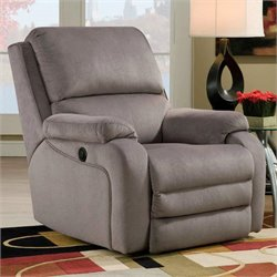 Southern Motion Ovation Layflat Wall Hugger Power Recliner in Smoke
