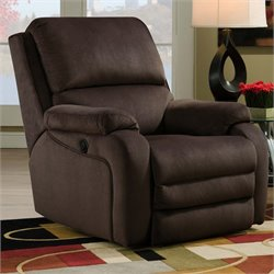 Southern Motion Ovation Rocker Power Recliner in Night Party Godiva