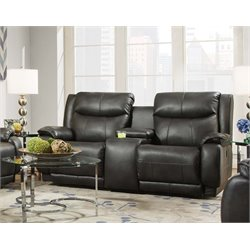 Southern Motion Velocity Double Reclining Console Loveseat