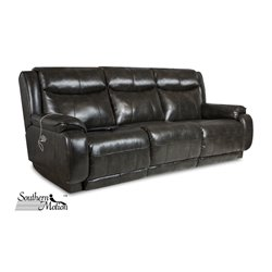 Southern Motion Velocity Double Reclining Sofa in Soft Touch Dusk