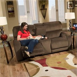 Southern Motion Avalon Power Double Reclining Console Loveseat
