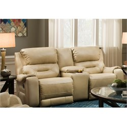 Southern Motion Sting Power Double Reclining Console Loveseat