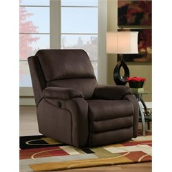 Southern Motion Ovation Layflat Wall Hugger Recliner in Night Party Godiva