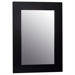 Elegant Home Fashions Chatham Wall Mirror in Dark Espresso