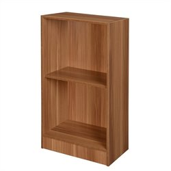 Niche 2-Shelf Bookcase in Warm Cherry