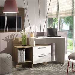 Manhattan Comfort Teramo Home Desk with 1 Shelves