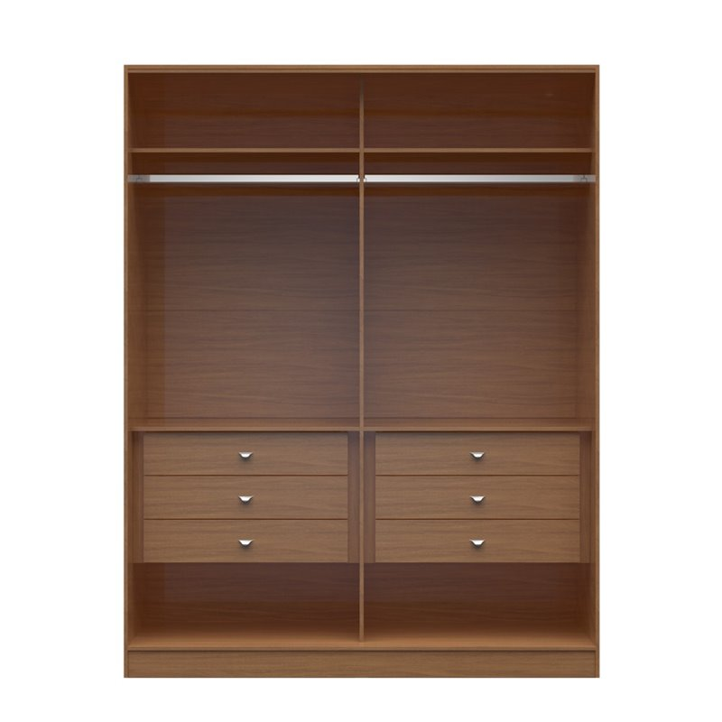 Manhattan comfort chelsea 6 drawer his and hers wardrobe for His and hers wardrobe