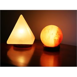 Manhattan Comfort 2 Piece Assorted Himalayan Salt Lamp Set