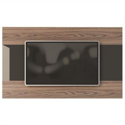 Manhattan Comfort Carnegie TV Panel in Avalon Gloss and Onyx