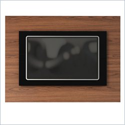Manhattan Comfort Spring TV Panel in Mocha and Black