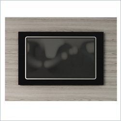 Manhattan Comfort Spring TV Panel in White and Black