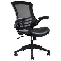 Manhattan Comfort Intrepid High Back Office Chair in Black