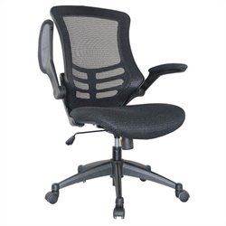 Manhattan Comfort Lenox Office Chair in Black