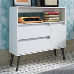 Manhattan Comfort Gota Single Door Console Table