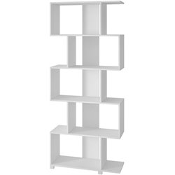 Manhattan Comfort Petrolina 5 Shelf Bookcase