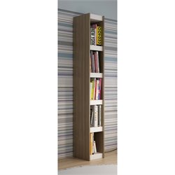 Manhattan Comfort Parana 1.0 Series 5 Shelf Bookcase in Oak White