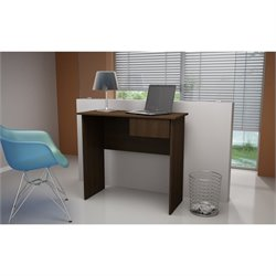 Manhattan Comfort Cosenza Writing Desk in Tobacco